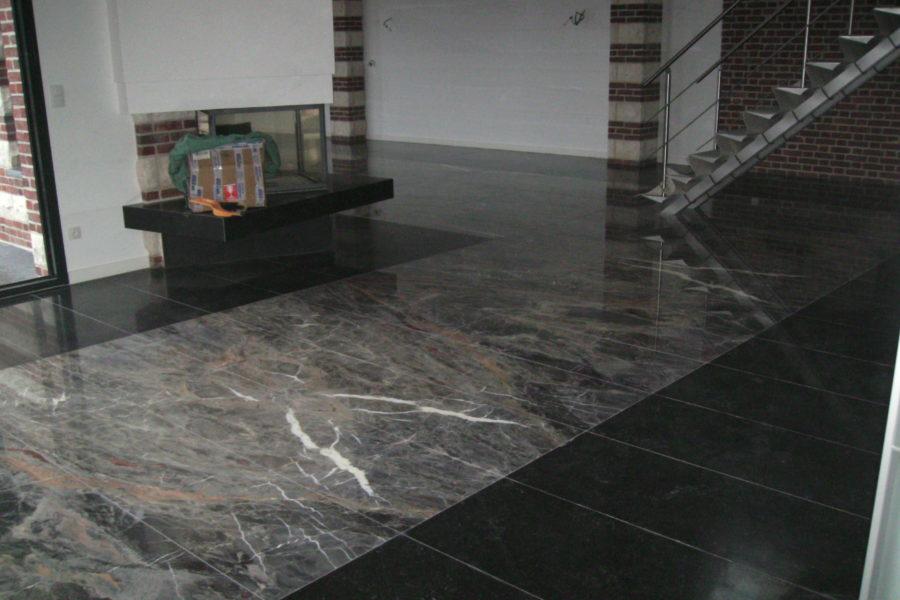 Dallage en marbre